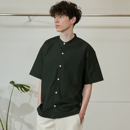 20SS Success Extra Typewriter Short Sleeve Shirts Bold Green