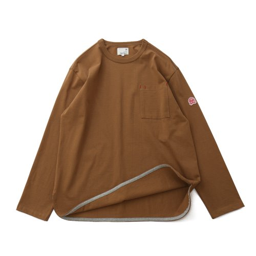 20FW Emery Long Sleeve Pocket Seasonal T-shirts Camel