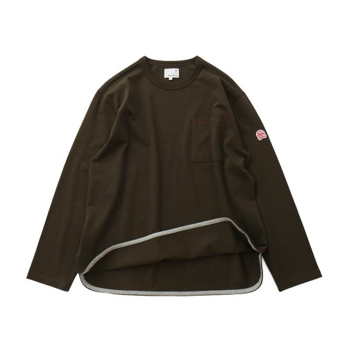 20FW Emery Long Sleeve Pocket Seasonal T-shirts Dark Khaki