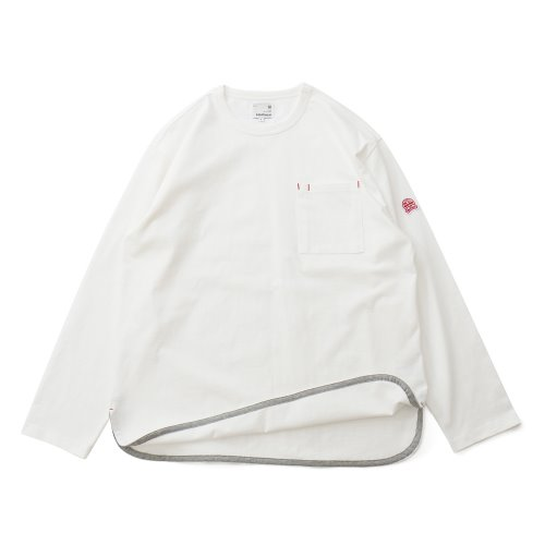 20FW Emery Long Sleeve Pocket Seasonal T-shirts Offwhite
