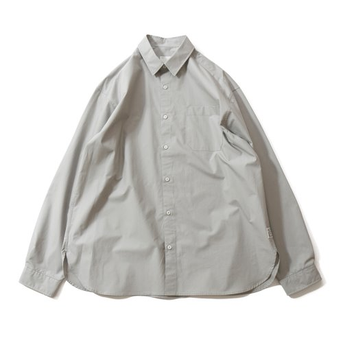 20FW Jane Extra Typewriter Loosefit Shirts Gray