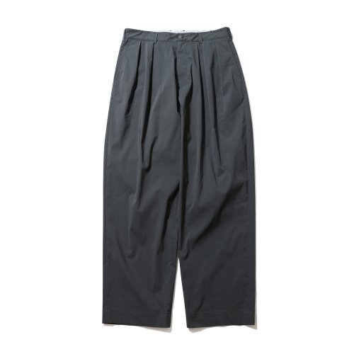 21SS Corinth Stretch Set Up Pants Charcoal Gray