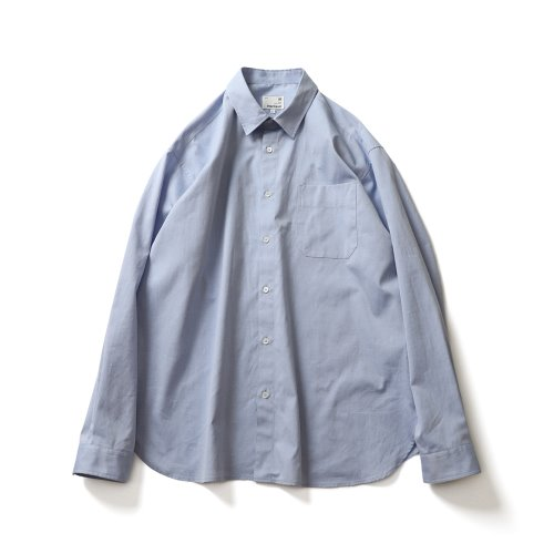 21SS Jane Silky Oxford Shirts Blue