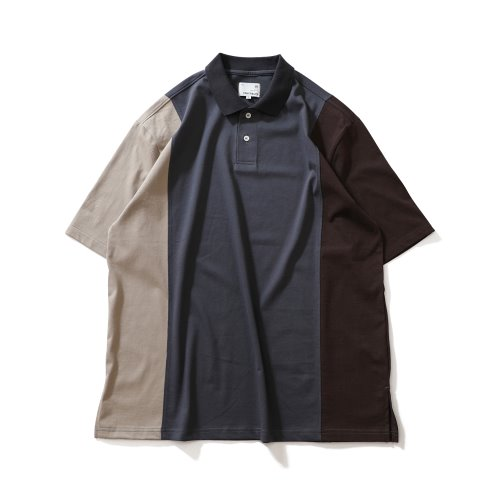 21SS Sumerset Color Balance Pullover Shirts Charcoal Beige