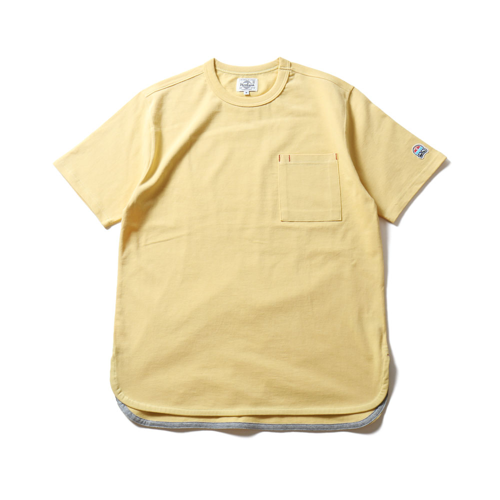 19SS Emery Short Sleeve Pocket T-shirts SU Seasonal Yellow