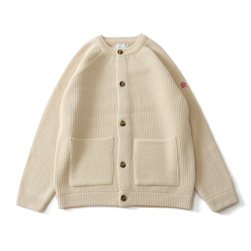 19FW Annette Raglan Full Cardigan Heavy Knit Cream