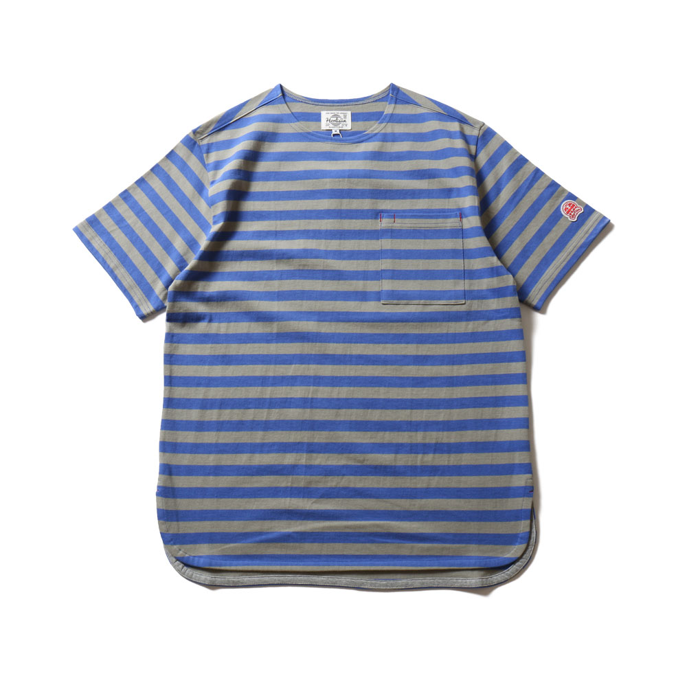 19SS Union Short Sleeve Pocket T-shirts SU Seasonal Blue Gray