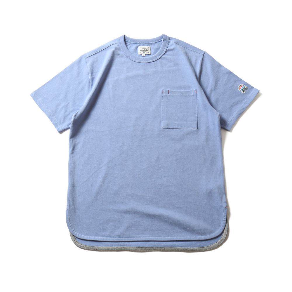 19SS Emery Short Sleeve Pocket T-shirts SU Seasonal Blue